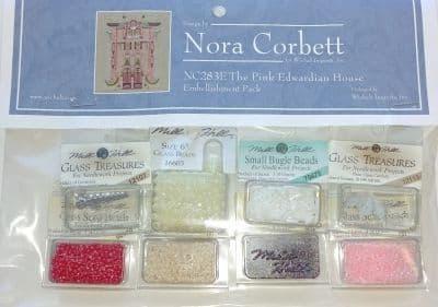 Nora Corbett The Pink Edwardian House Embellishment Pack