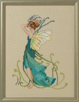 Nora Corbett Water Reeds printed cross stitch chart