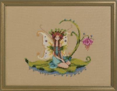 Nora Corbett Water Sprite printed cross stitch chart