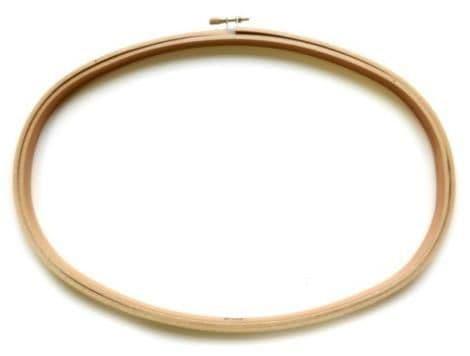 Oval Wooden Hoop 8 x 12 Inch