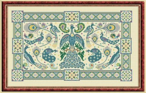 Papillon Creations Birds of a Feather printed chart