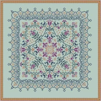 Papillon Creations Midnight Garden printed chart
