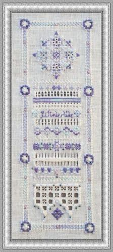 Papillon Creations Wintertide printed chart