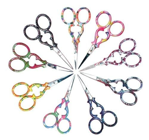 Patterned Embroidery Scissors