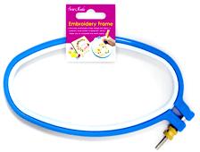 Plastic Oval Hoop 4.5 x 9 Inch