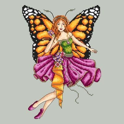 Shannon Christine Designs Butterfly Fairy cross stitch chart