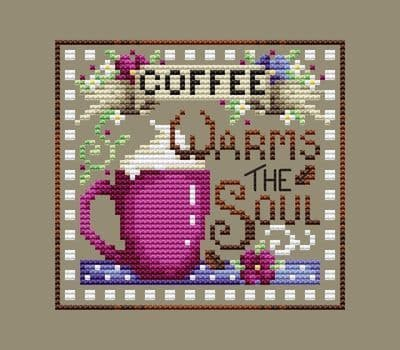 Shannon Christine Designs Coffee Break cross stitch chart