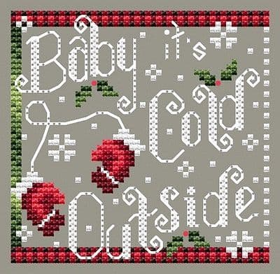 Shannon Christine Designs Cold Outside cross stitch chart