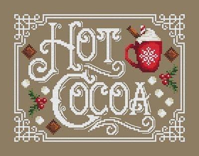 Shannon Christine Designs Hot Cocoa cross stitch chart
