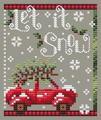 Shannon Christine Designs Let it Snow cross stitch chart