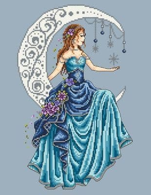 Shannon Christine Designs Moon Princess cross stitch chart