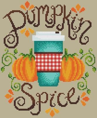 Shannon Christine Designs Pumpkin Spice cross stitch chart