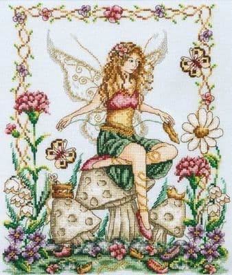 Shannon Christine Designs Shoe Fairy cross stitch chart