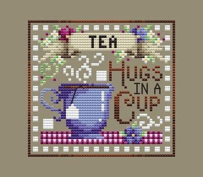 Shannon Christine Designs Tea Break cross stitch chart