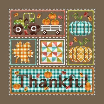 Shannon Christine Designs Thankful cross stitch chart