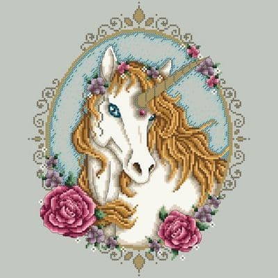 Shannon Christine Designs Unicorn cross stitch chart