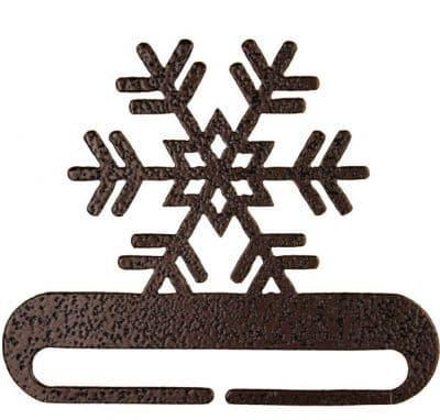 """Snowflake 6"""" Copper Metal Bellpull"""