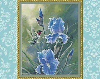 The Cross Stitch Studio Grandma's Garden printed cross stitch chart