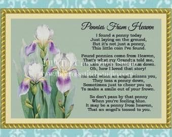 The Cross Stitch Studio Pennies from Heaven Printed cross stitch chart