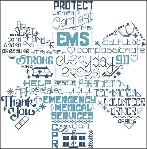 Ursula Michael Let's Appreciate EMS cross stitch chart