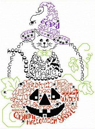 Ursula Michael Let's Get Spooky cross stitch chart