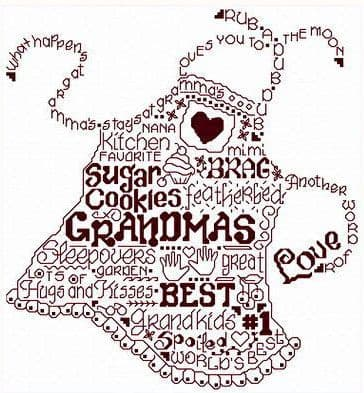 Ursula Michael Let's Go to Grandma's cross stitch chart
