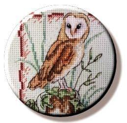 Woodland Owl needle minder