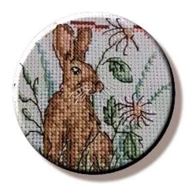 Woodland Rabbit needle minder