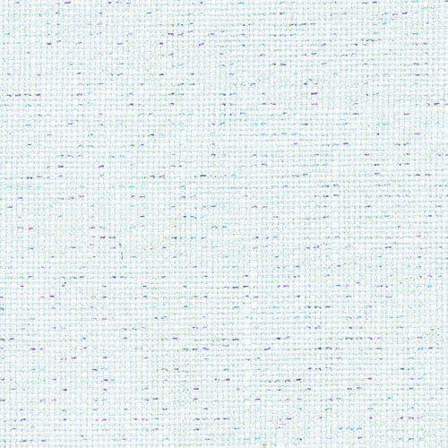 Zweigart 32 Count Belfast Linen Opalescent Pearl Flecked Snow