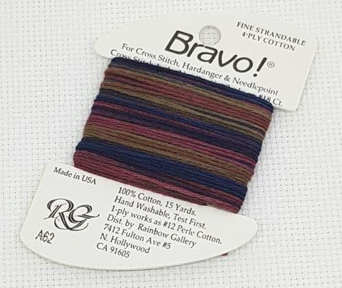 A62 Blues & Gold Bravo thread