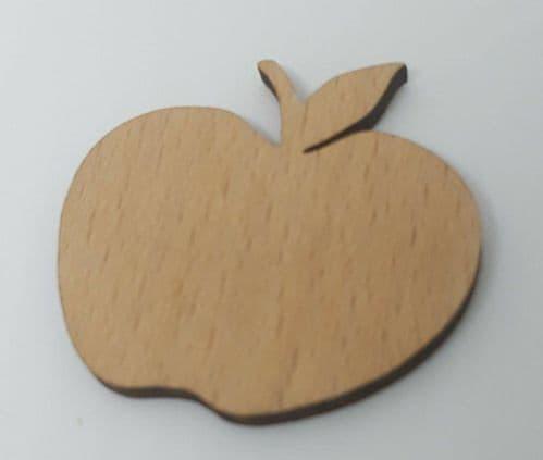 Apple wooden Needle Minder