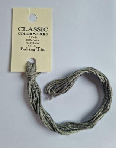 Baking Tin Classic Colorworks CCT-261