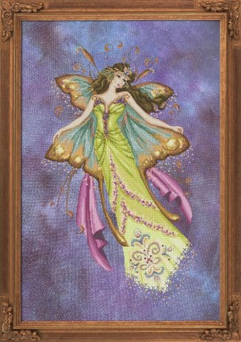 Bella Filipina Ascent of the Moth Queen printed cross stitch chart
