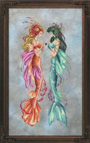 Bella Filipina Daughters of Estuary printed cross stitch chart