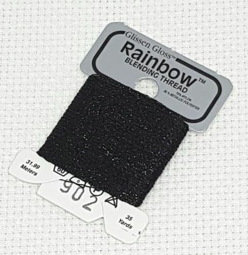Black GlissenGloss Rainbow Thread 71 / R902