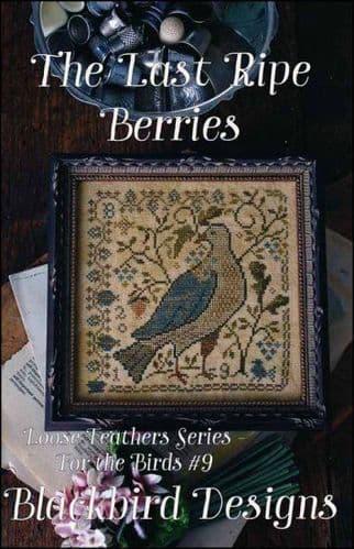 Blackbird Designs The Last Ripe Berries cross stitch chart