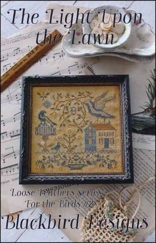 Blackbird Designs The Lights Upon the Lawn cross stitch chart
