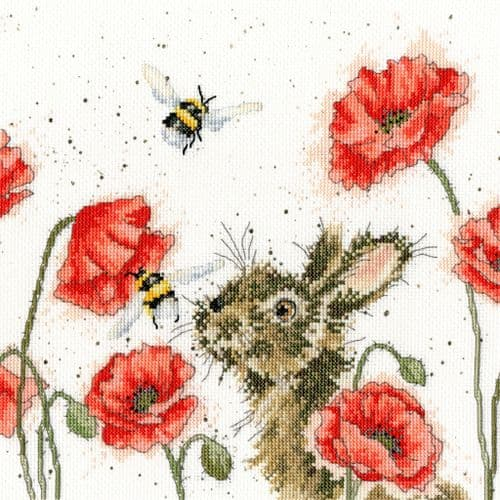 Bothy Threads Let it Bee - Hannah Dale cross stitch kit