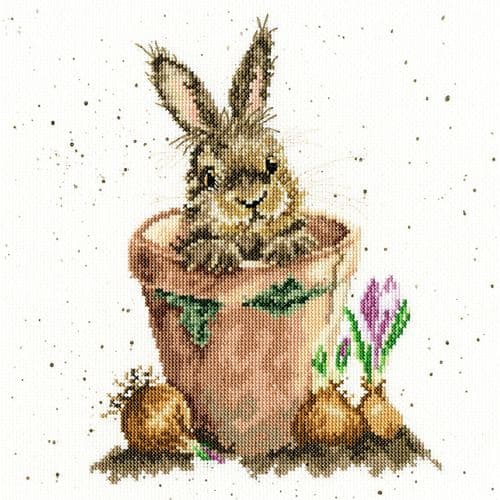 Bothy Threads The Flower Pot - Hannah Dale cross stitch kit