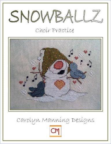 Carolyn Manning Designs Choir Practice printed cross stitch chart