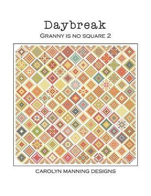 Carolyn Manning Designs Daybreak - Granny is no Square 2 printed cross stitch chart
