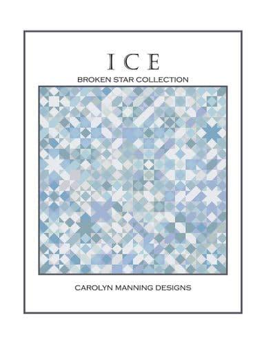 Carolyn Manning Designs Ice printed cross stitch chart