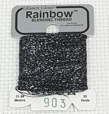 Charcoal GlissenGloss Rainbow Thread 261 / R903