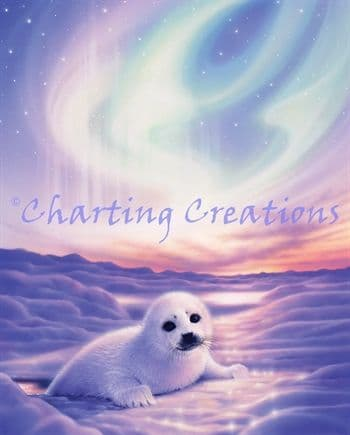 Charting Creations Baby's Love printed cross stitch chart