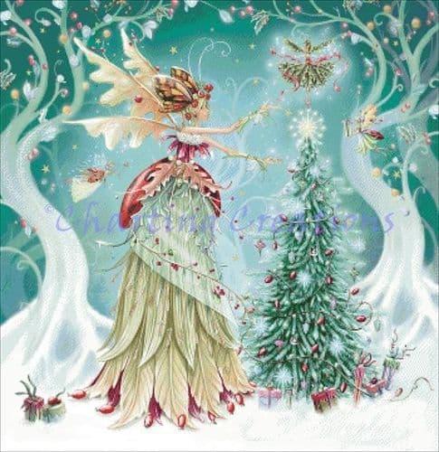 Charting Creations Christmas Fairy Magic printed cross stitch chart