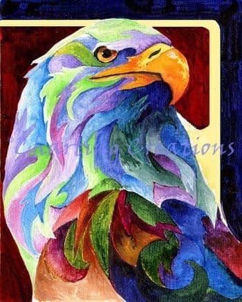 Charting Creations Eagle Spirit printed cross stitch chart