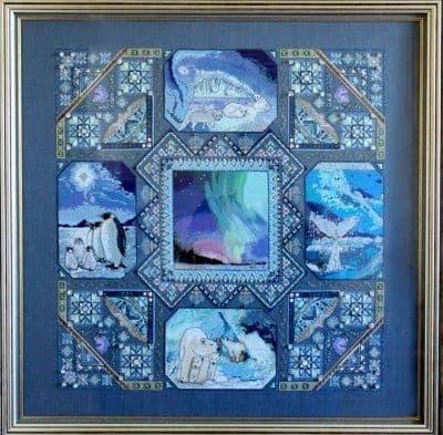 Chatelaine Polar Mandala cross stitch chart