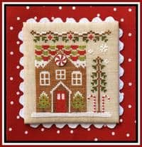 Country Cottage Needleworks Gingerbread House 1 cross stitch chart