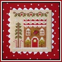 Country Cottage Needleworks Gingerbread House 4 cross stitch chart