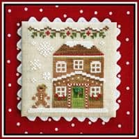 Country Cottage Needleworks Gingerbread House 5 cross stitch chart